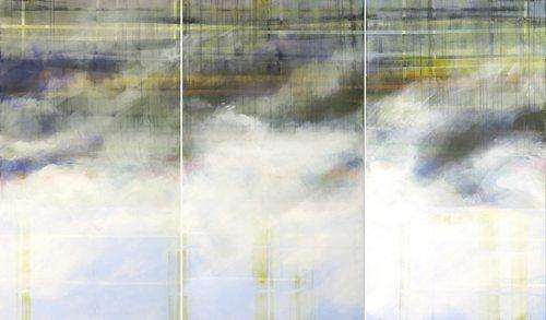 Von Oben 1 Skadi Engeln Peinture Huile, Pastel, Tempera, Craie sur Toile