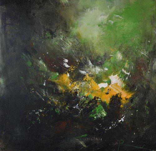 Là-bas... Roseline Al Oumami Peinture Acrylique sur Toile