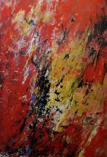 Dinamik Roseline Al Oumami Peinture Acrylique sur Toile