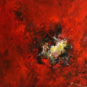 Humeur joyeuse Roseline Al Oumami Peinture Acrylique sur Toile