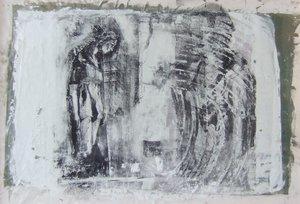 Erinnerung Arsentij Pawlow Peinture Huile, Lithographie sur Toile