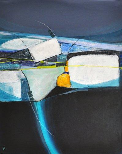 Sommerfrische (forgotten items) Gerdi Moeller-Jansen Peinture Acrylique sur Toile