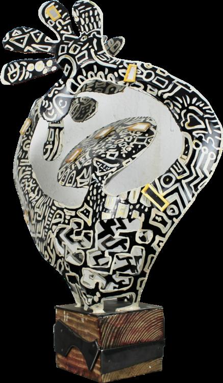 Mirror By Santi Flores 2019 Sculpture Steel Singulart