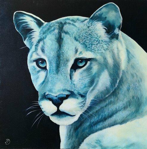 Exceder tinción Hormiga  Puma de Sabine Ducarn (2018): Pintura Óleo en Lino - Singulart