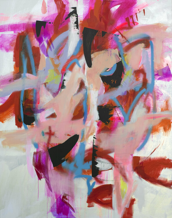 Diamond Bright Ideas Are Dancing In Your Brain By Sara Abbott 2018 Painting Acrylic Spray Paint On Canvas Singulart